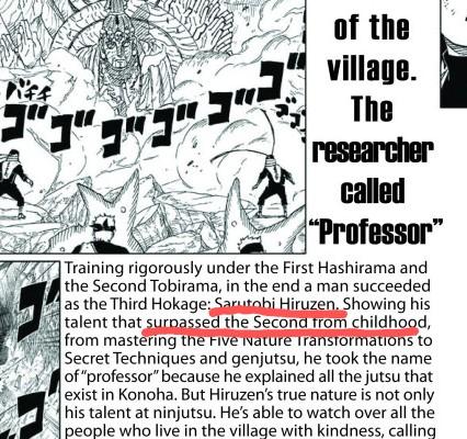 Kakashi é o ninja copiador? Foda-se, Hiruzen sabe todos jutsus Tumblr10
