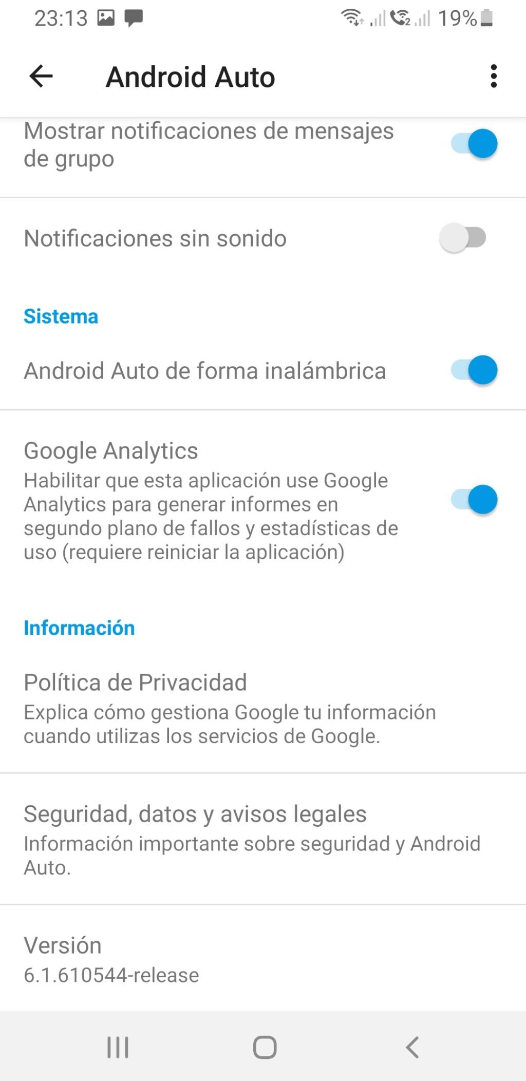 Android Auto inalambrico - Página 5 Screen15