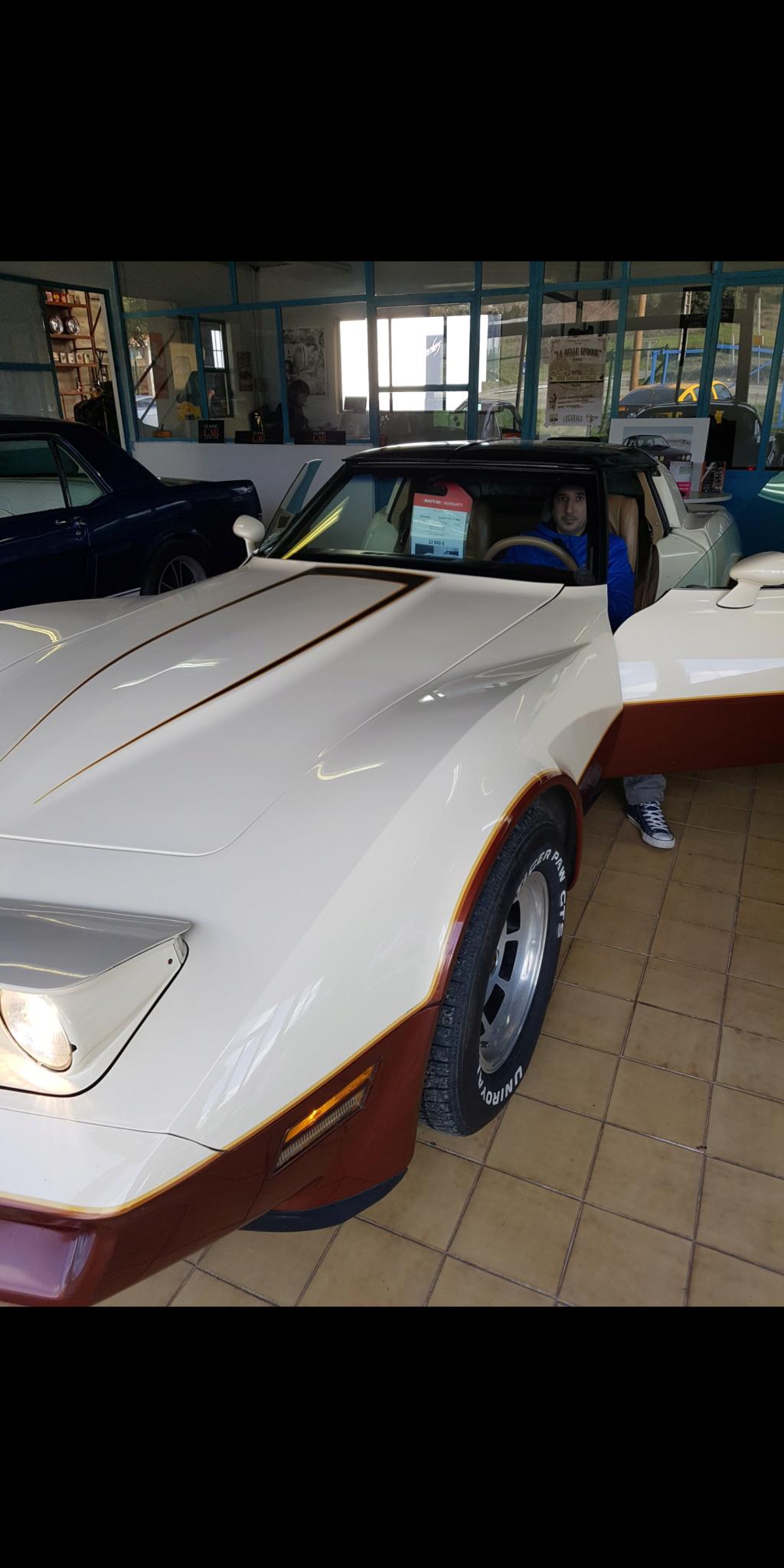Conseil sur la Corvette C3 1981 Screen17
