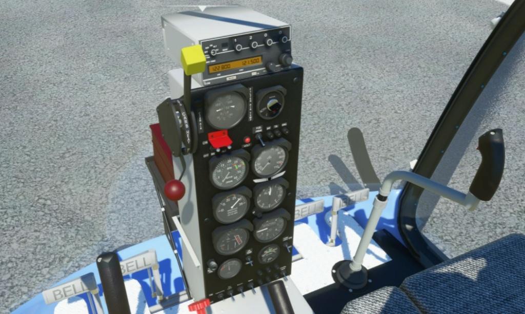 BELL 47 G2... SUR FS 2020 Captur13