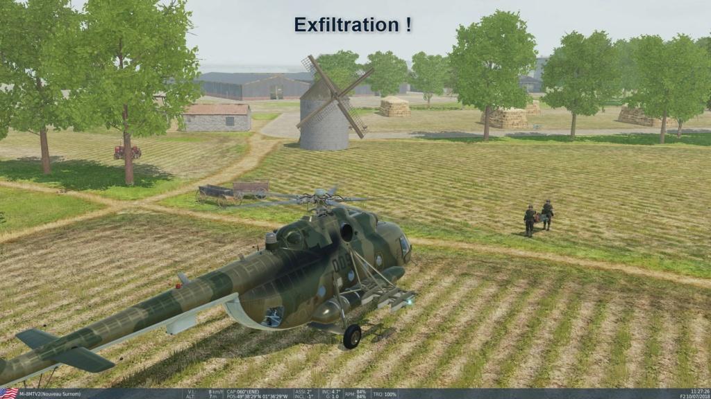 Exfiltration des blessés sur Normandie ! 21/09/2020 Screen14