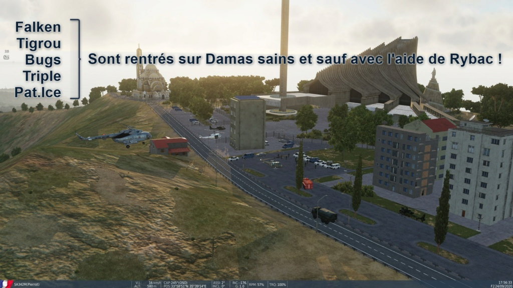 "Campagne ""Operations for Syria's Peace"" de Falken Screen22"