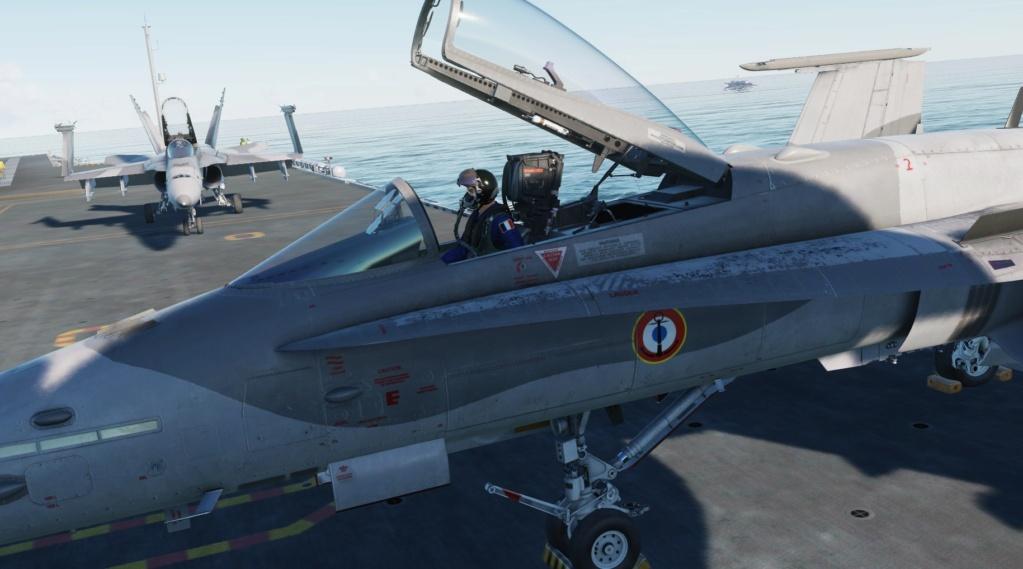 Livrée Marine Française du F-18 ! Screen38