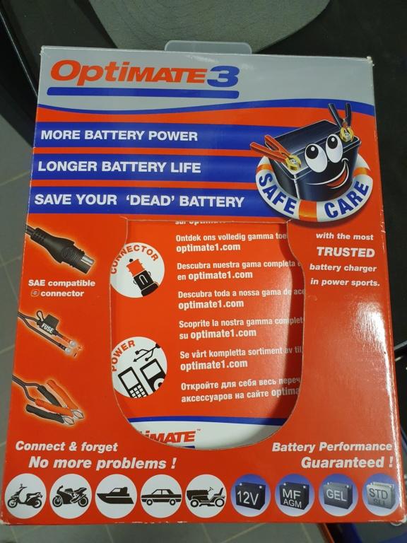 Batterie et chargeur permanent  20210213