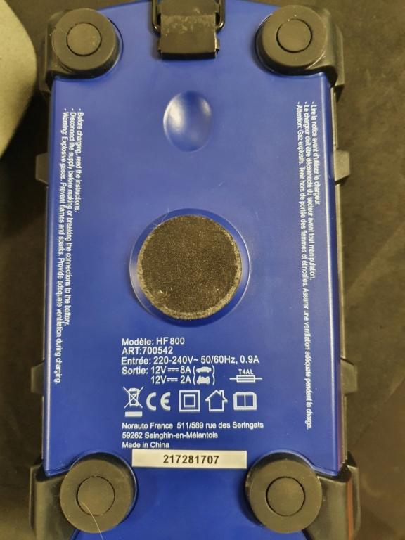 Batterie et chargeur permanent  20210214