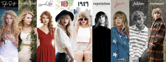 Taylor Swift's Discography Screen10