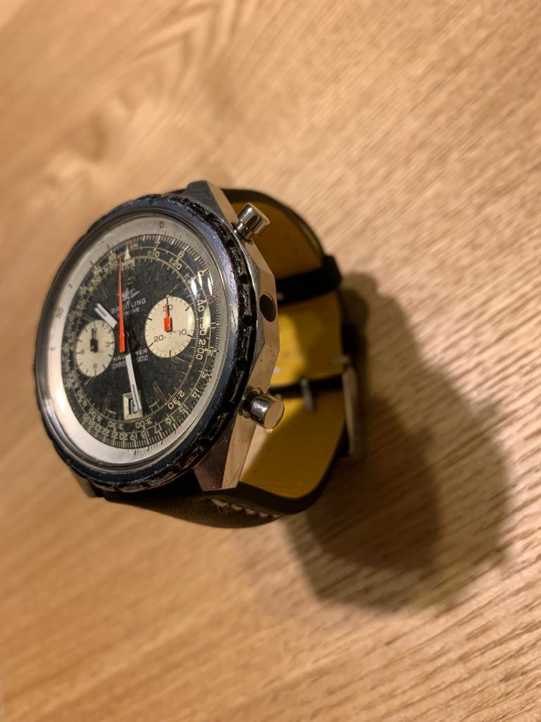 Restauro de breitling navitimer 11525/67 chrono-matic 1211