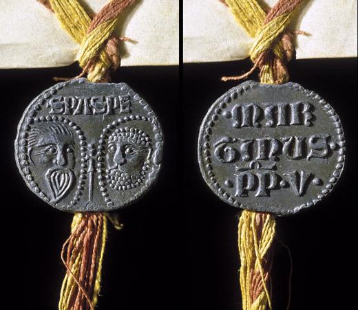 Matriz de sello + S EGIDII PSB : RSPAN : Bula210