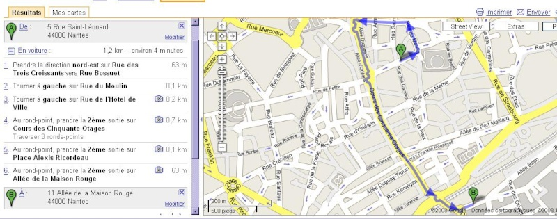 Les Rendez-vous de l'Erdre 29-30-31 août 2008 Carte10