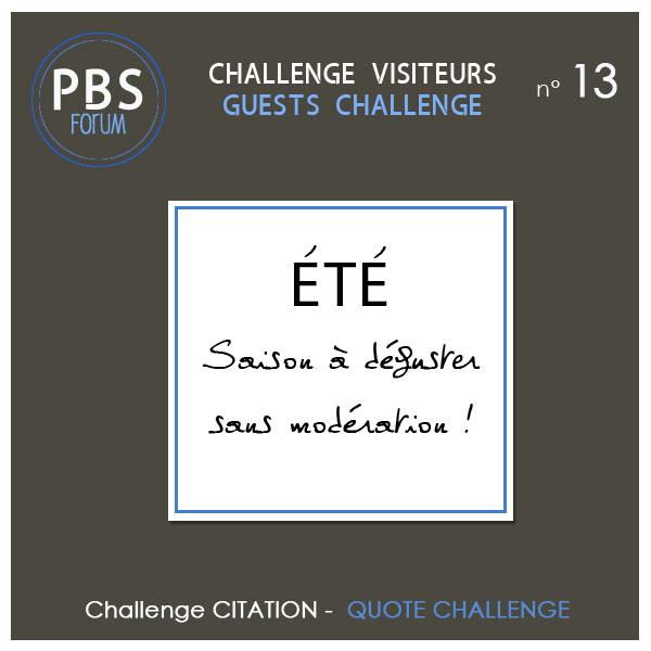 Challenge VISITEURS n° 13 - CITATION Visite10