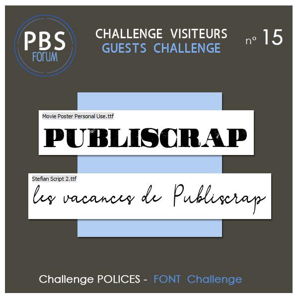 Challenge VISITEURS n°15 - Polices Visite12