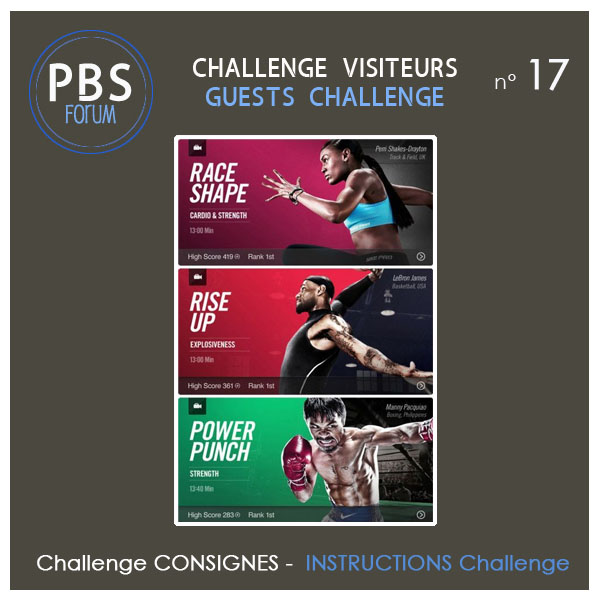 Challenge VISITEURS n°17 - Consignes Visite14
