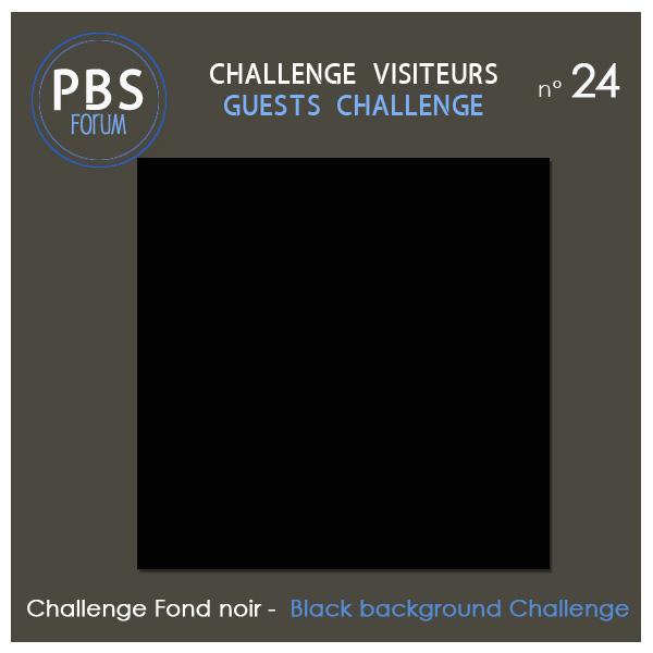 Challenge VISITEURS n°24 - Fond noir Visite21