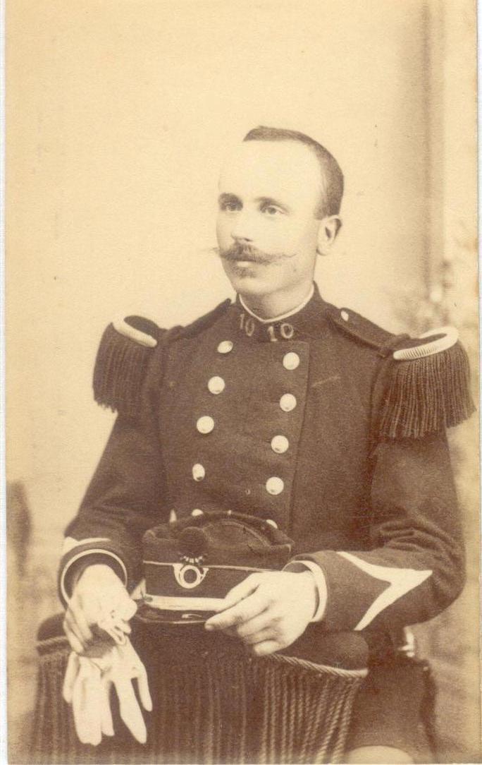 carte postale du 10 BATAILLON Marine34
