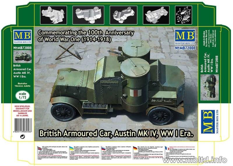 [ Master Box ] - Austin MkIV (FIN) 0115