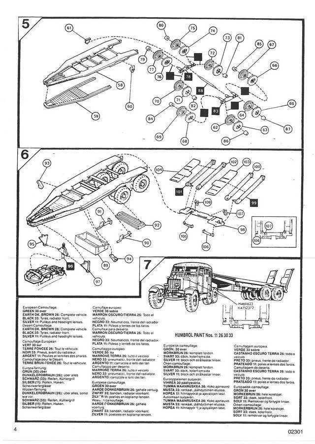 Airfix - Scammell transport (Scammell + Matilda) TERMINE 04_not10