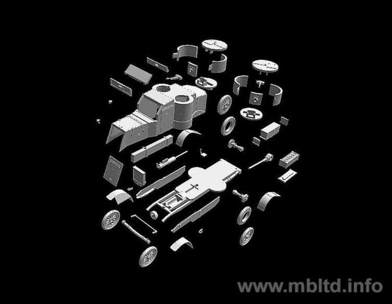 [ Master Box ] - Austin MkIV (FIN) 0610