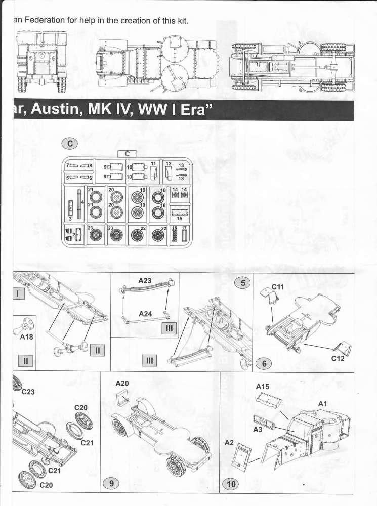 [ Master Box ] - Austin MkIV (FIN) Notice11
