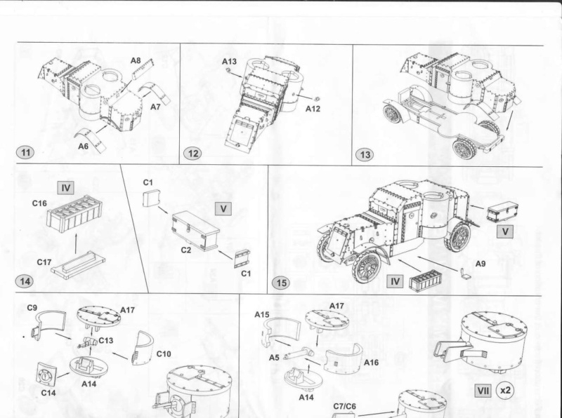 [ Master Box ] - Austin MkIV (FIN) Notice12