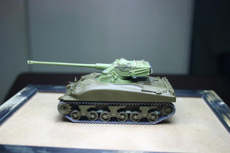 Sherman M4A1 avec tourelle AMX13 (termine) Revalo10