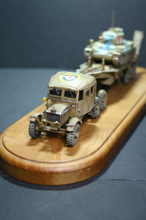 Airfix - Scammell transport (Scammell + Matilda) TERMINE - Page 4 Scamm105