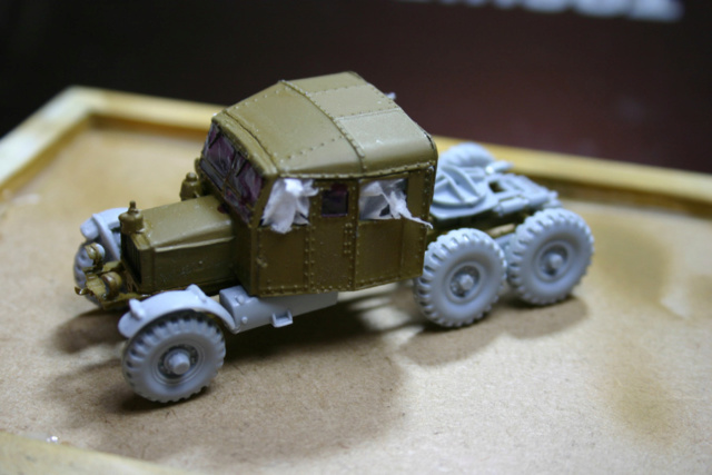 Airfix - Scammell transport (Scammell + Matilda) TERMINE Scamme30