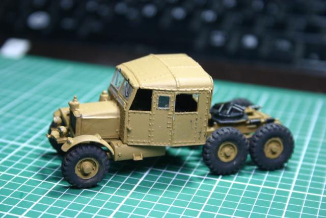 Airfix - Scammell transport (Scammell + Matilda) TERMINE Scamme35