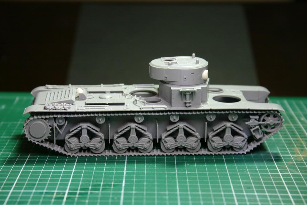 [Zvezda] T-35   peinture du train de roulement - Page 2 T35_3710