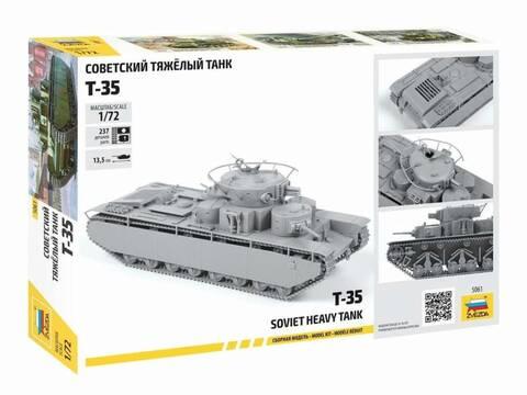 [Zvezda] T-35   peinture du train de roulement 0223