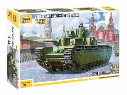[Zvezda] T-35   peinture du train de roulement Zvezda10