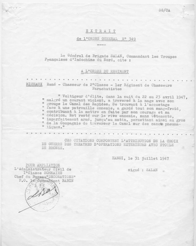 [Opérations de guerre] INDOCHINE - TOME 1 - Page 21 Michau11