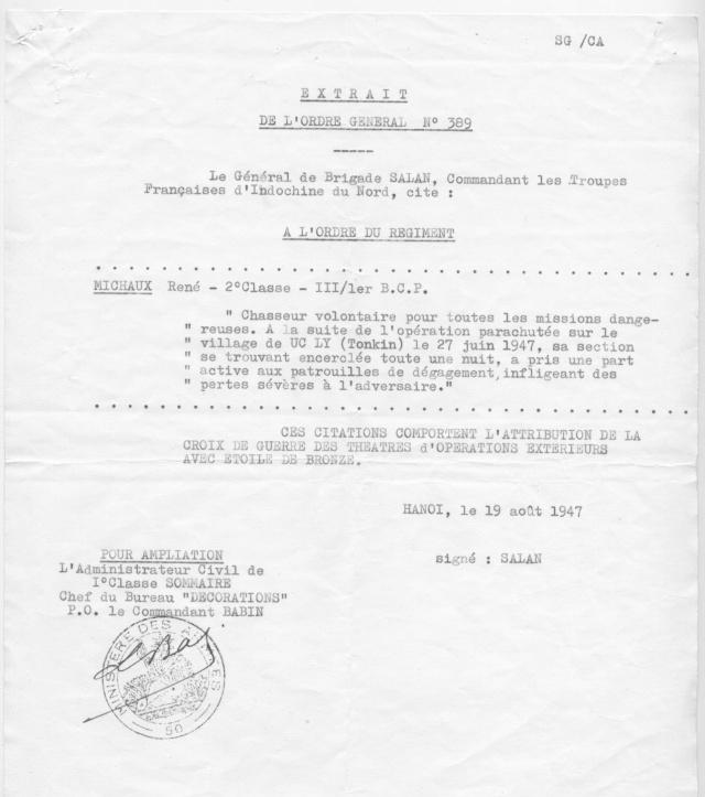 [Opérations de guerre] INDOCHINE - TOME 1 - Page 21 Michau12