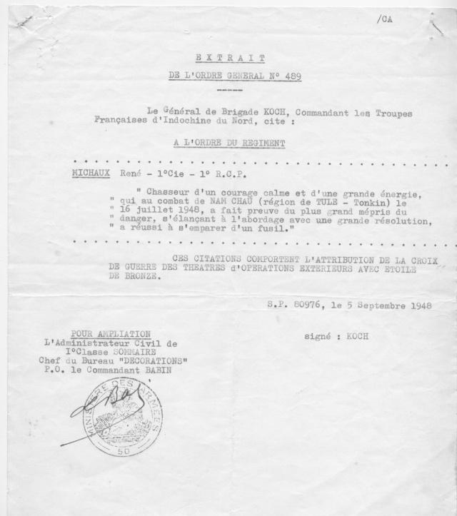 [Opérations de guerre] INDOCHINE - TOME 1 - Page 21 Michau13