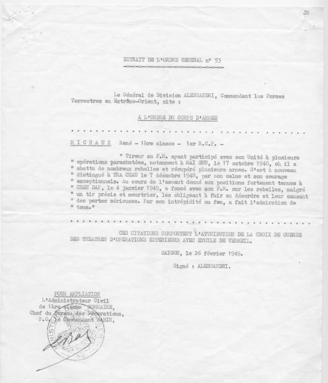 [Opérations de guerre] INDOCHINE - TOME 1 - Page 21 Michau14