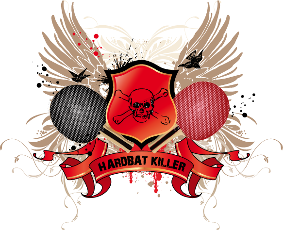 nouveau logo hardbat killer Hardba15