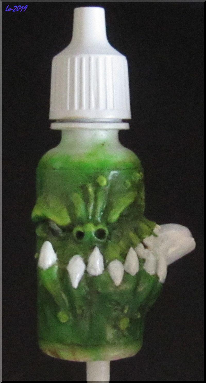 Le Kroc-doigt - MAOW - Echelle flacon de peinture acrylique 610