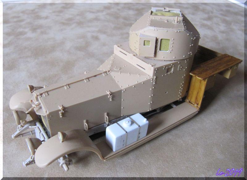 Rolls-Royce Armored Car - MENG - 1/35ème - Page 9 Bison_12