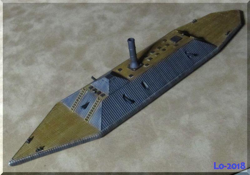 CSS Atlanta - Verlinden - 1/200ème - Page 2 Bois_110