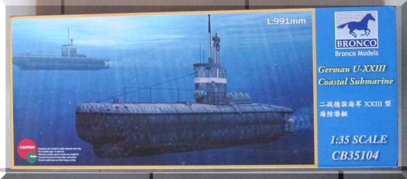 U-boot type XXIII - Bronco - 1/35ème Bozyte15