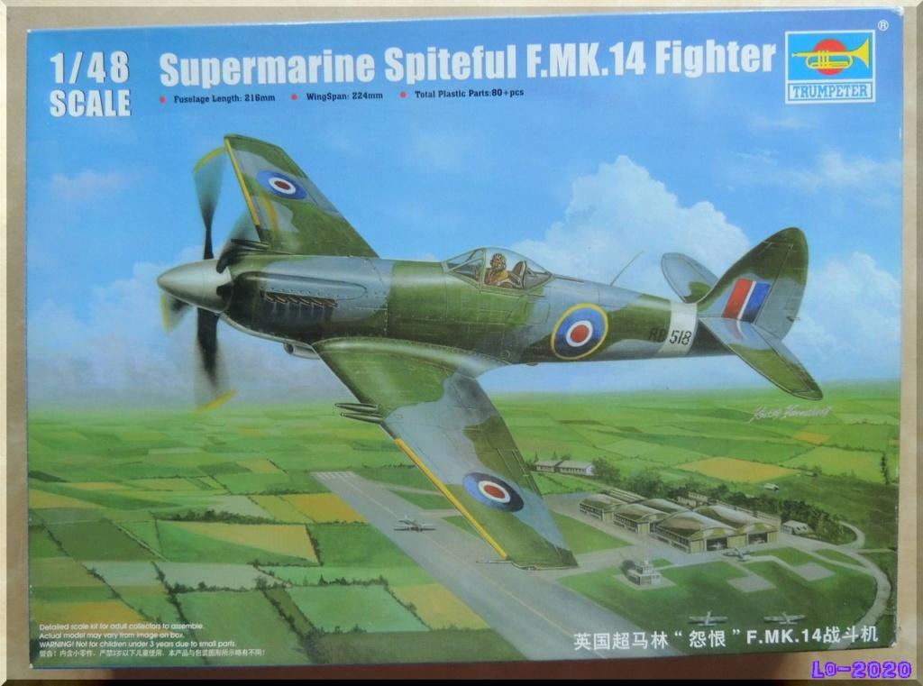 Supermarine Spitful Mk-16 (RB-518) - Trumpeter - 1/48ème Dscn0010