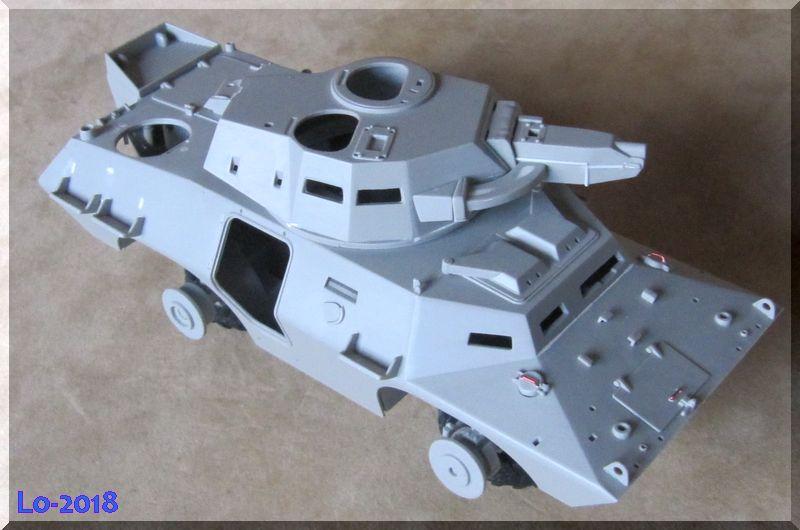 Cadillac V-200 Gage avec canon de 20mm - Hobbyboss - 1/35ème - Les Ricains roulent en Cad !  - Page 2 Proble13