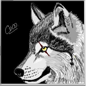 El Dibu de la Chimenea - Arte Demente Lobo11