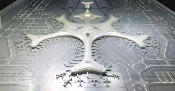 مطار هاربين الدولي بتصميم قطعة الثلج 15593814