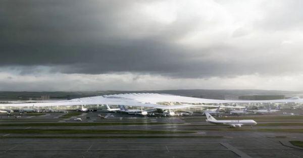 مطار هاربين الدولي بتصميم قطعة الثلج 15593816