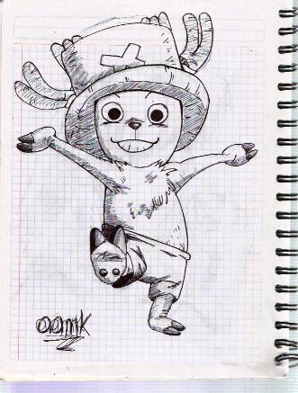 Dibujo One Piece Choppe10