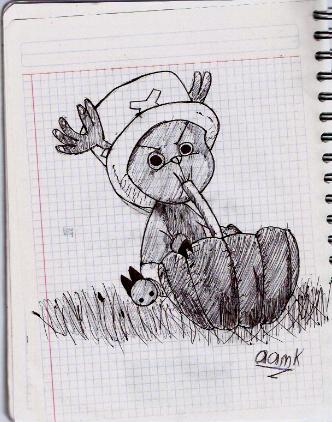 Dibujo One Piece Dibujo19