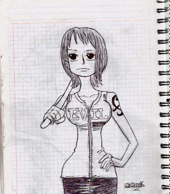 Dibujo One Piece Namii10