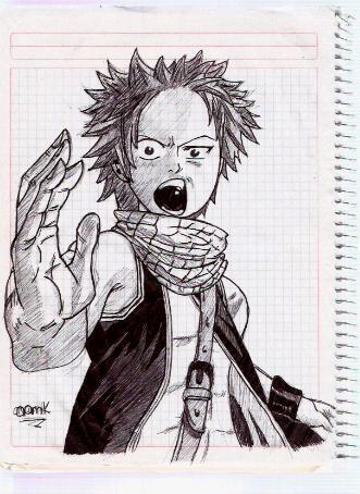 Dibujos Fairy Tail Natsu_10