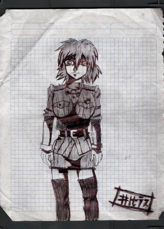 Dibujos Hellsing Seras_10