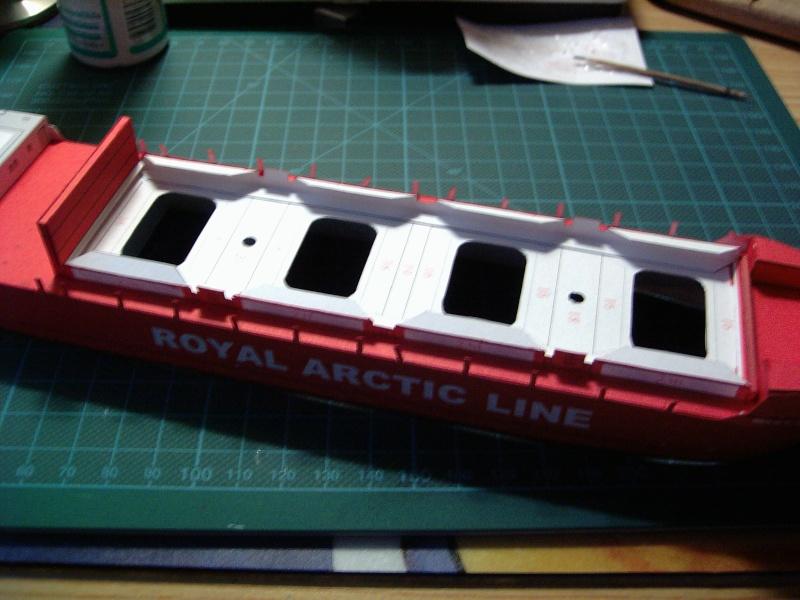 Containerfrachter Mary Arctica von JSC in 1:400 Pic01517